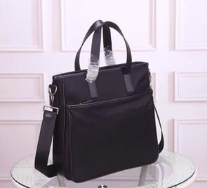 Designer briefcases men shoulder bag for men waterproof canvas cowhide leather Female shoulder bag Tote handbag for man document bag