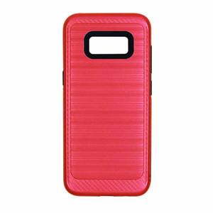 Pour HTC Desire 530 Bolt 200 Coolpad 3632 Defiant C3701A 3310 One Plus Métal Brossé Design Texturé Coque Hybride Absorbante Durable