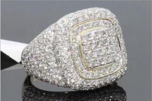 Cristais de luxo Strass Mulheres Homens Anéis de Dedo 2019 Moda Unissex Anéis de Jóias Acessórios