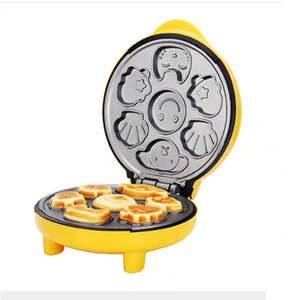 electric baking pan double-sided heating donut cake machine waffle make