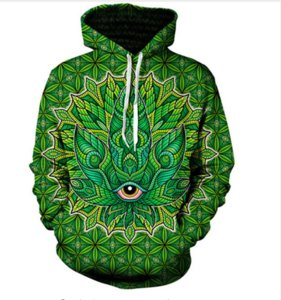 New Fashion Couples Men Women Unisex HD Psychedelic Funny 3D Print Hoodies Sweatshirt Jacket Pullover Tops RW02