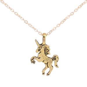 Friendship Clover Necklace Einhorn Good Luck Unicorn Necklace Modeschmuck