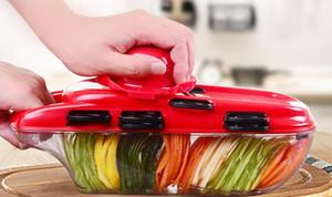 Vegetable Cutter Accessori Cucina affettatrice della frutta della taglierina della patata Peeler carota Grattugia di verdure affettatrice della frutta della verdura