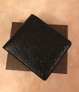 2020 Paris estilo xadrez Designer mens carteira homens famosos de luxo bolsa especial lona múltipla pequena carteira curto bifold com caixa
