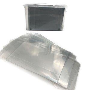 12PCS Universal pour le Japon Verison plastique transparent boîte pour SNES cartouche Case pour SFC panier Protector Card Sleeve