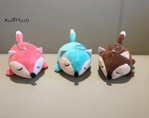 New Cute Little FOX 12CM Plush DOLL , Plush Fox Animal Stuffed TOY DOLL ; Cute Wedding Gift Bouquet Plush TOY