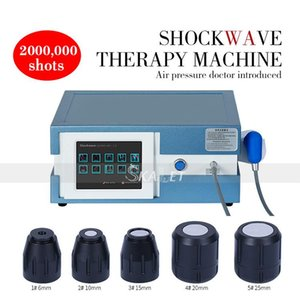 8 Bar onde d'urto pneumatico Apparecchiatura di terapia per la disfunzione erettile Terapia alleviare il dolore articolare con CE