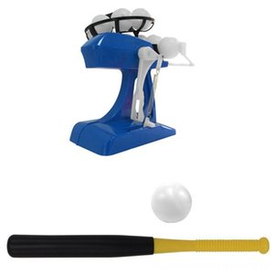 Mini Children Baseball Fitness Equipments Fitness Supplies Automatic Serve Machine Practice Ball Machine Interactive ParentChild Toy