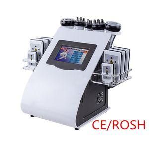 Nuovo disegno nuovo modello 40 K liposuzione ad ultrasuoni cavitazione 8 Pad LLLT lipo Laser Che Dimagrisce Macchina di vuoto RF Cura Della Pelle Salon Spa CE ROSH