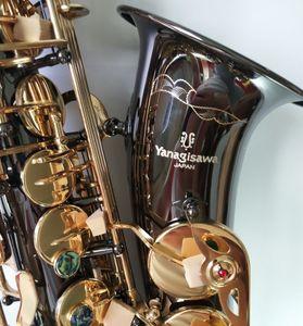 dava ile siyah profesyonel müzik aleti çalmak Yanagisawa Eb Alto Saksafon Müzik Japonya Yanagisawa A-992 alto saksofon