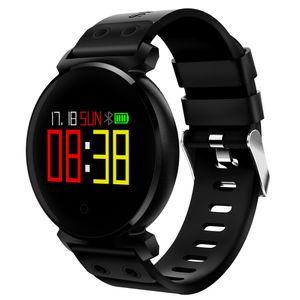 K2 스마트 시계 혈액 산소 혈압 심장 박동 모니터 블루투스 스마트 시계 IP68 방수 팔찌가 iOS 아이폰 안드로이드