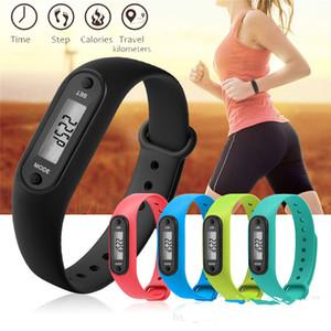 Smart Wristbands Passometer Sports Watch 12 Colors Universal Wearable Technology Accessories Waterproof Run Walk Gym English