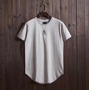 2019 Fashion Baseball Jerseys T-Shirt da uomo manica corta in jersey a maniche lunghe color grigio chiaro