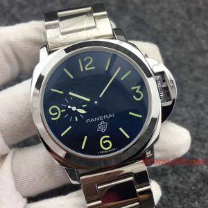 Negocio de lujo automático del cuero del diseñador de la correa para hombre de acero inoxidable de la manera exquisita relojes deportivos Relojes de pulsera