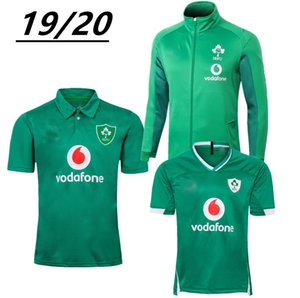 Free Shiping Top quality 19 20 Irish Rugby jerseys Ireland Wor Cp home away Rugby jersey training suit POLO shirt