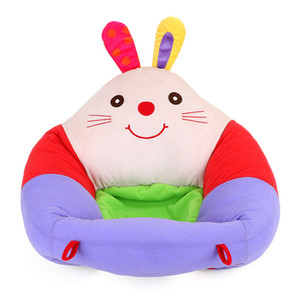 Baby Seats Sofa Cute Cartoon Support Seat Baby Plush Support Chair cotton feeding chairs Soft Plush Toys For Infants Toddlers