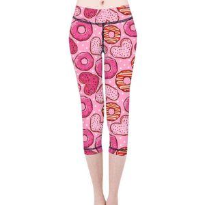 Mujer de secado rápido aptitud del deporte Leggins dona Impreso pantalones deportivos pantalones de yoga gimnasia polainas delgadas medias Pantalones de mujeres 2020