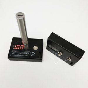 Ecig accessori Dab Penna Nail Vape Pen Box Mod Ecig atomizzatore di tensione Tester di resistenza di 510 Discussione Cartomizer Tester di resistenza
