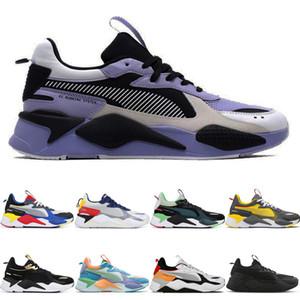 Puma RS-X Progettista originale Rs-X RS-x reinvenzione giocattoli trasformatori uomini donne scarpe Trofeo FUCSIA VIOLA Blue Atoll sneakers sport formatori in esecuzione