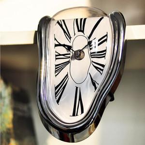 Surreal плавления Искаженные настенные часы Творческий Сальвадор Дали Стиль Часы настенные