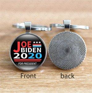 JOE Biden president 2020 Keychain Pendant Joe Biden For President Keyring US President Badge Key Chain Vote Key Holder Party Favor hot D7208
