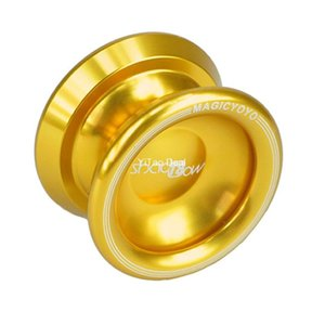 Livraison gratuite New Golden Magic Ball YoYo T8 Ombre professionnel en aluminium YoYo