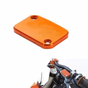 Laranja CNC Fluid tampa do reservatório Cap Motorcycle Parte Para KTM DUKE 390