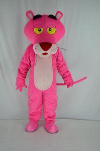 2019 Remise vente d'usine Custume fait mascotte panthère rose taille adulte mascotte panthère rose