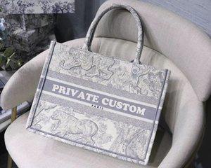 Nome superior customizável qualidade 5A bolsa colorida Livro Totes saco de Designer clássico Impresso sacos de compras de grande capacidade saco bordado