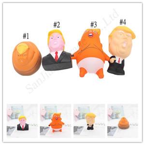 Donald Trump Stres sıkın Topu Jumbo Squishy Oyuncak Yenilik Basınç Tahliye Doll Yaratıcı PU Squeeze Eğlence Joke Prop Hediyeler Kid Oyuncak YENİ D11402
