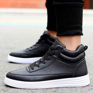 Neuer Schwarz-Weiß-Stil verursachender Schuh Man-Weiß-Rot Runzlig Low Cut Sneaker Fashion Arena Schuhe Tropfen-Verschiffen Größe 39-44