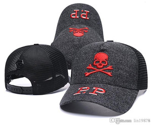 2019 casquettes de baseball maille Crâne Casquettes chapeus Outdoor Sport de haute qualité 6 Les chapeaux de golf hip-hop panneau