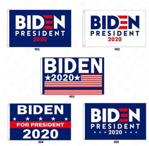 90*150CM BIDEN 2020 Presidential Campaign Flag The US Election Biden Letters Garden Flags Polyester Garden Home Flags 5color D62901