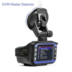 2-in-1 Russo traço Cam Radar Laser Car Detector DVR Hiden Camera Auto Dashcam Veículo Safe Speed Medição Eletrônica do carro