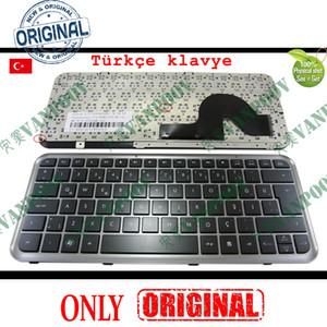 Novo teclado Notebook Laptop para HP Pavilion Dm3-1000 com moldura preta Turco TR Versão - V105303AK1