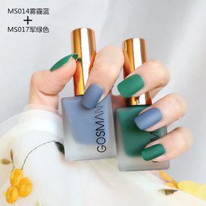 New matte nail polish matte matte velvet non-peelable baking-free quick-drying nail polish lasting color