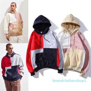 2019 Mens Brand Hoodies Autumn Long Sleeve Designer Hoodies Fashion Hip Hop Sweatershirts High Street Mens Clothing Size M-2XL B100327K