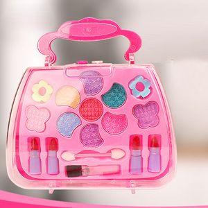 Niñas Princesa Simulación Tocador Maquillaje Juguete Cosmético Fiesta Niños Actuaciones Tocador Conjunto Ambiental Diversión Regalo
