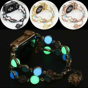 40mm / 44mm / 38mm / 42mm Bande Lumineuse Pour Iwatch Bracelet Montre Bracelet Bracelet Accessoire pour Apple Watch Série 1/2/3/4