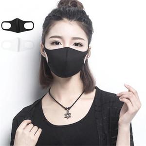 Black Cotton Mouth Mask Anti Haze Dust Washable Reusable Layer Dustproof Mouth-muffle Winter Warm Mask