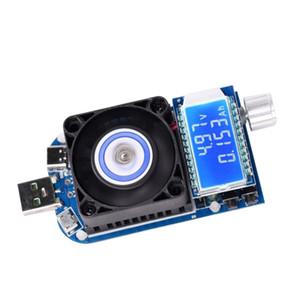 الإلكترونية USB تحميل تستر، سعة البطارية اختبار الوحدة، اختبار الطاقة الذكية التفريغ مع مروحة تبريد