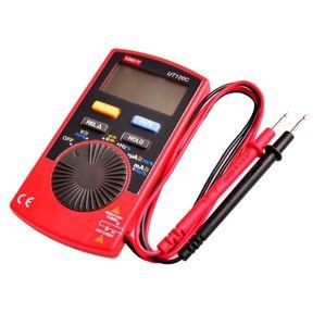 Freeshipping UT120C Mini Taschenformat LCD Digital Multimeter Tragbare Voltmeter Tester Meter AC DC (anstelle von UT10A LCD)