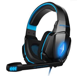 2019 G2000 귀 게임 게임 헤드폰 헤드셋 이어폰 머리띠 마이크 스테레오베이스 LED PC 게임