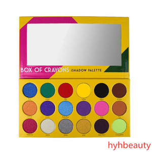 Wholesale Price Makeup Eye Shadow Palette BOX OF CRAYONS Eyeshadow iShadow Palette 18 Color Shimmer Matte