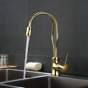 Bathroom Kitchen Basin Faucets Brass Gold Color Faucet Designer Faucet Bath Basin Mixer Tap with Hot and Cold Sink Rose
