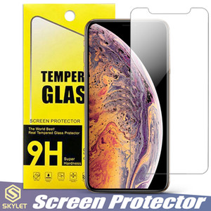 Für Moto E5 Spielen Alcatel 1X Huawei Mate 20 Lite iPhone XS MAX Displayschutzfolie Gehärtetes Glas Für Galaxy S7 A8 2018 J3 J7 2018 LG K30 in Box