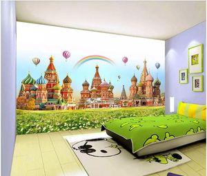 3d обои на заказ фотообои детская комната замок мир мечты тв фон обои для стен 3 d