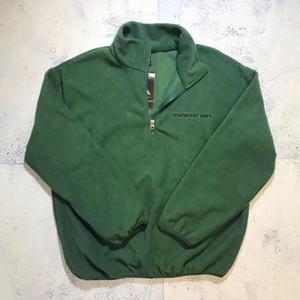 19FW Rubchinskiy Fleece Top Long Sleeve Loose Warm Sweatshirts Fashion Couple Women Mens Designer High Quality Sweater M~XL05
