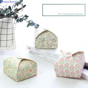 DIY Handmade Soap Craft embalagem, Buckle Padrão Embalagem Box, caixa de presente simples, 10pcs Wrapping Paper Caixa de Papelão
