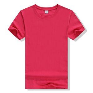 100 pamuk Tişörtü yuvarlak boyun reklam gömlek kısa kollu boş kültürel gömlek aktivite sınıf giysi giysi logo çalışması
